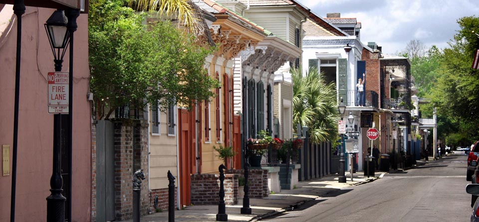 The charm of old New Orleans
