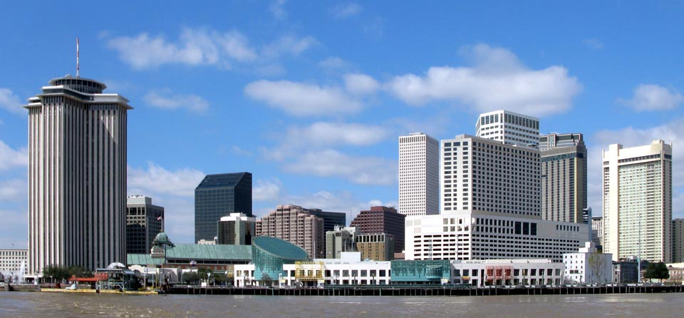 The New Orleans City Skyline